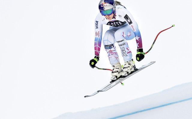 Lindsey Vonn bo morala na povratek še malo počakati, ženskih tekem v St. Antonu ta konec tedna ne bo. FOTO: Reuters
