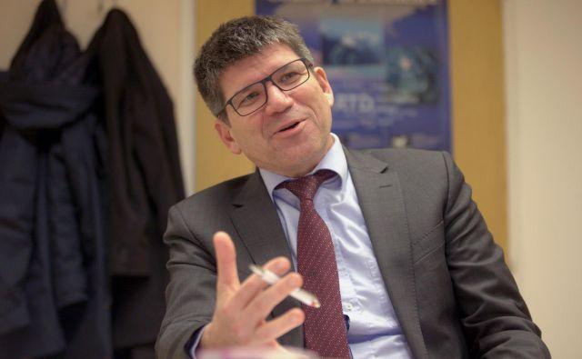 Bernd Rech,direktor centra Helmholtz, je prepričan, da bo sončna energija temelj sistemov. FOTO: Roman �ipić/Delo