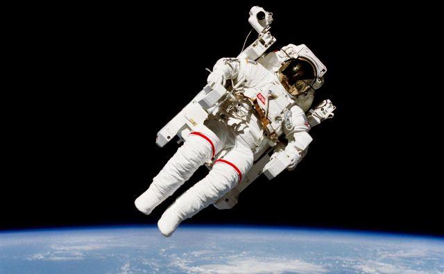 Astronavti so v vesolju izpostavljeni skrajnim razmeram; nanje se že in se bodo še bolj temeljito lahko pripravljali tudi v Planici. Foto Nasa