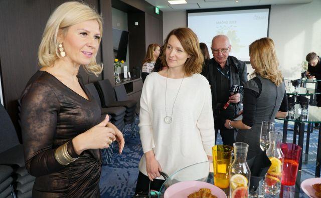 Solastnica podjetja Skaza Tanja Skaza se bo prihodnje leto umaknila kot direktorica. FOTO: Skaza