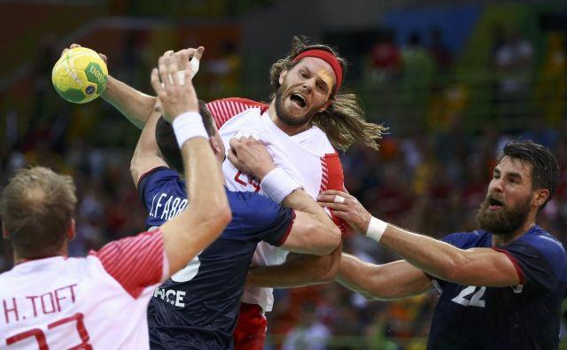 Danski strelec Mikkel Hansen je v Riu pred dvema letoma Francozom izmaknil olimpijski naslov, na domačih tleh jim bo želel še svetovnega. FOTO: Reuters