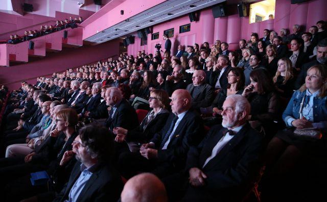 Slovesnost ob 60-letnici medijske hiše Delo, na kateri smo razglasili tudi Delovo osebnost leta 2018 in se poklonili najboljšim Delovim novinarjem leta. FOTO: Jože Suhadolnik
