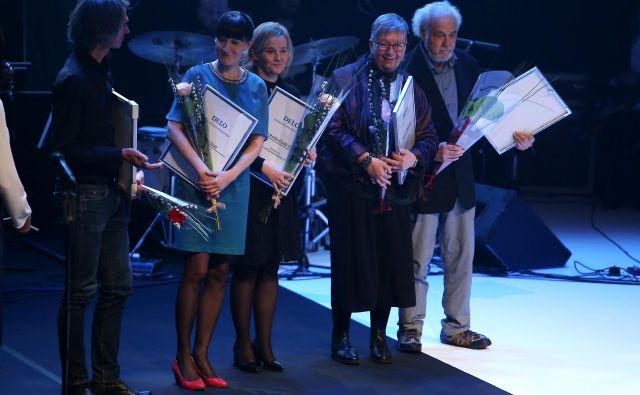 Nagrajeni novinarji. FOTO: Jože Suhadolnik