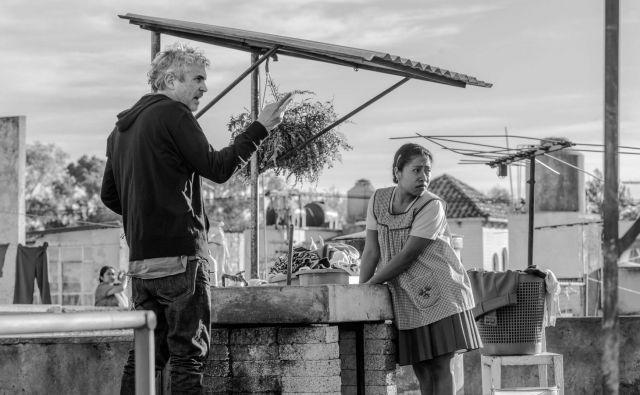 Alfonso Cuarón v akciji. FOTO: Netflix