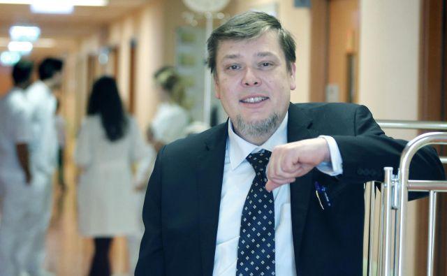 Pediater gastroenterolog. Ljubljana, 21. januar, 2016.[Prof. dr. Rok Orel,pediatri,gastroenterologi,zdravstvo,medicina,pediatrične klinike] Foto Ale� Černivec/delo