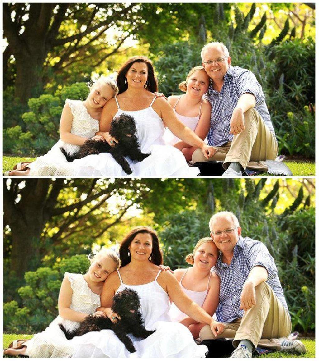 Avstralski premier z dvema levima nogama ali kako ne popravljati fotografij