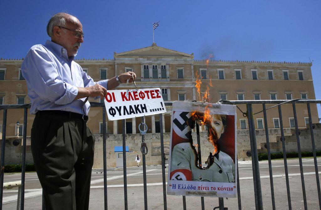 Nemška inventura grških protikriznih uspehov