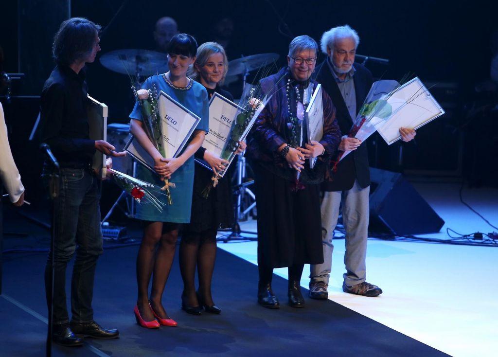 FOTO:Nagradi za življenjsko delo Zorani Baković in Petru Kolšku