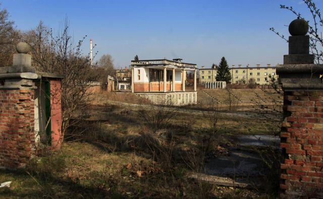 Plečnikov stadion za ljubljanskim Bežigradom FOTO: Leon Vidic/Delo