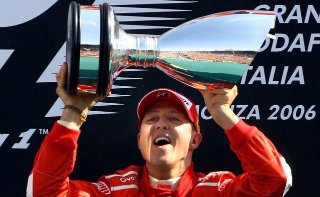 Michael Schumacher si je s ferrarijem pridirkal kar pet naslovov svetovnega prvaka v formuli 1. FOTO: Reuters