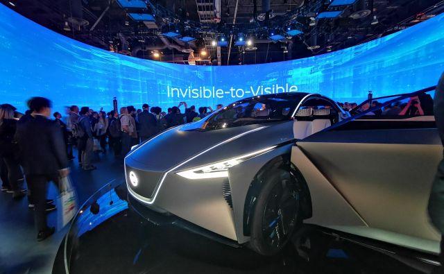 Nissan IMx je električno gnano konceptno vozilo, v katerem je japonski proizvajalec prikazal izkušnjo videti nekaj, kar nam je sicer nevidno.