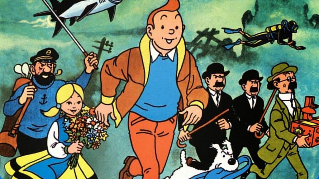 Tintin v čudežni deželi Belgijcev