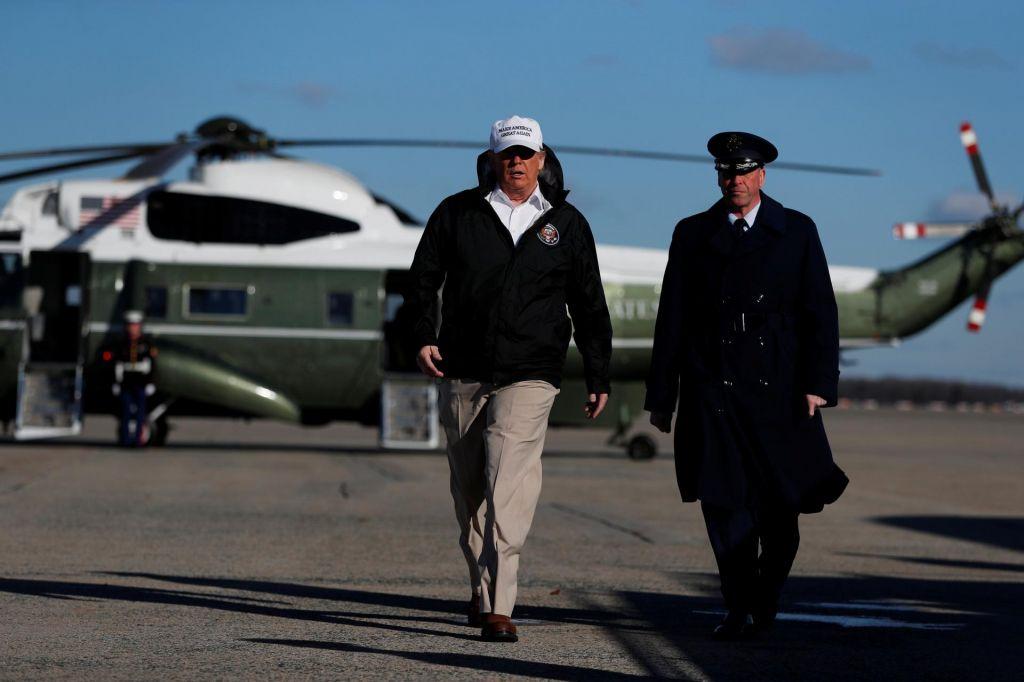 FOTO:Trump pripravlja državo na izredne razmere