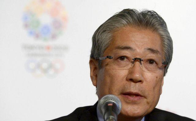 Tsunekazuja Takedo so v Parizu obtožili 10. decembra lani. FOTO: AFP