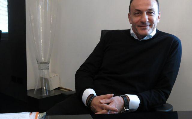 Ante Guberac, predsednik FC Koper, pravi, da je zaradi izjav Milana Mandarića prizadet.FOTO: Boris Šuligoj/Delo