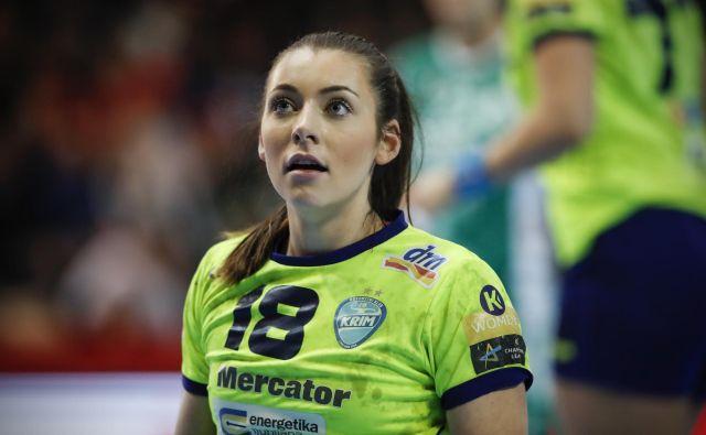 Glavna organizatorica igre Nina Zulić si je poškodovala koleno in bo izpustila mesec dni. Foto Uroš Hočevar
