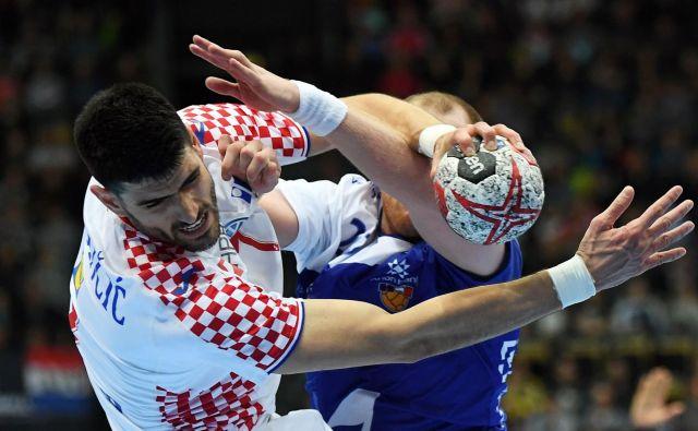 Luka Stepančić je bil presenetljivi junak hrvaške zmage proti Islandiji. FOTO: AFP