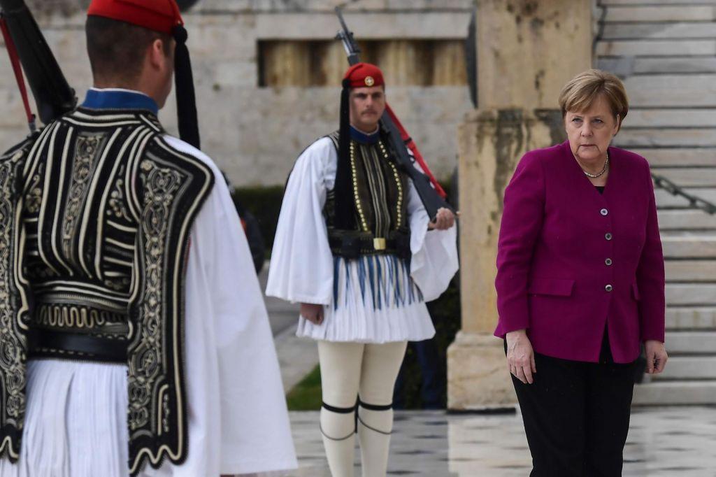 Grčija še naprej o nemških reparacijah