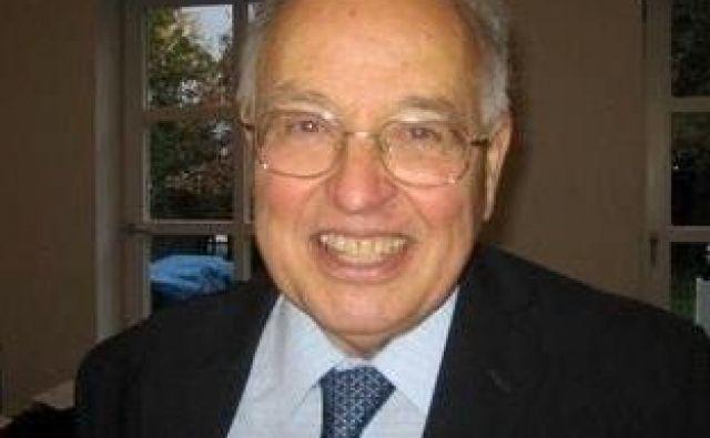 Michael Atiyah je bil eden najpomembnejših matematikov 20. stoletja. FOTO:Foto Wikipedia