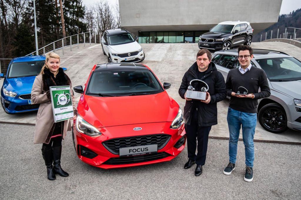 Slovenski avto leta je ford focus