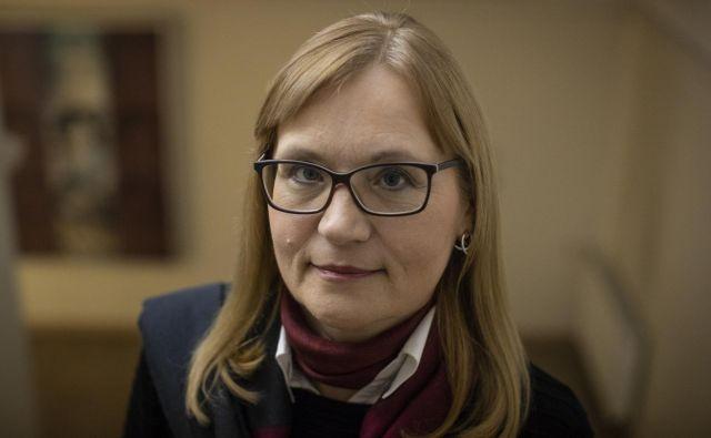 Maja Godina, etnologinja, prejemnica Murkove nagrade. Foto Voranc Vogel