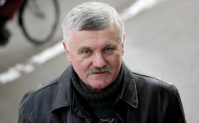 Frančišek Verk, predsednik sindikata državnih organov Slovenije.FOTO: Roman Šipič/Delo