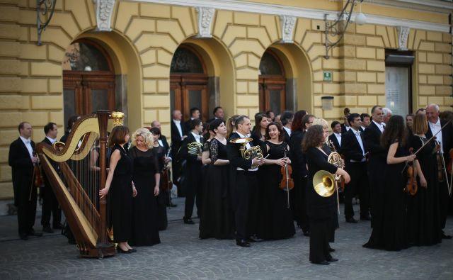 Orkester Slovenske filharmonije. FOTO: Jure Eržen/Delo