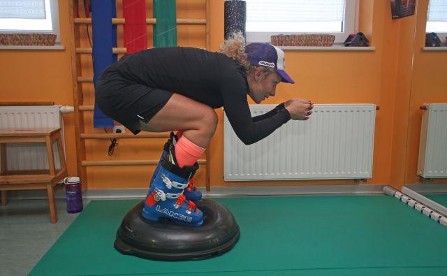 Ilka Štuhec je s svojim strokovnim štabom odlično izpeljala rehabilitacijo, manj uspešni in znani športniki je morda ne bi. FOTO: Tadej Regent/Delo
