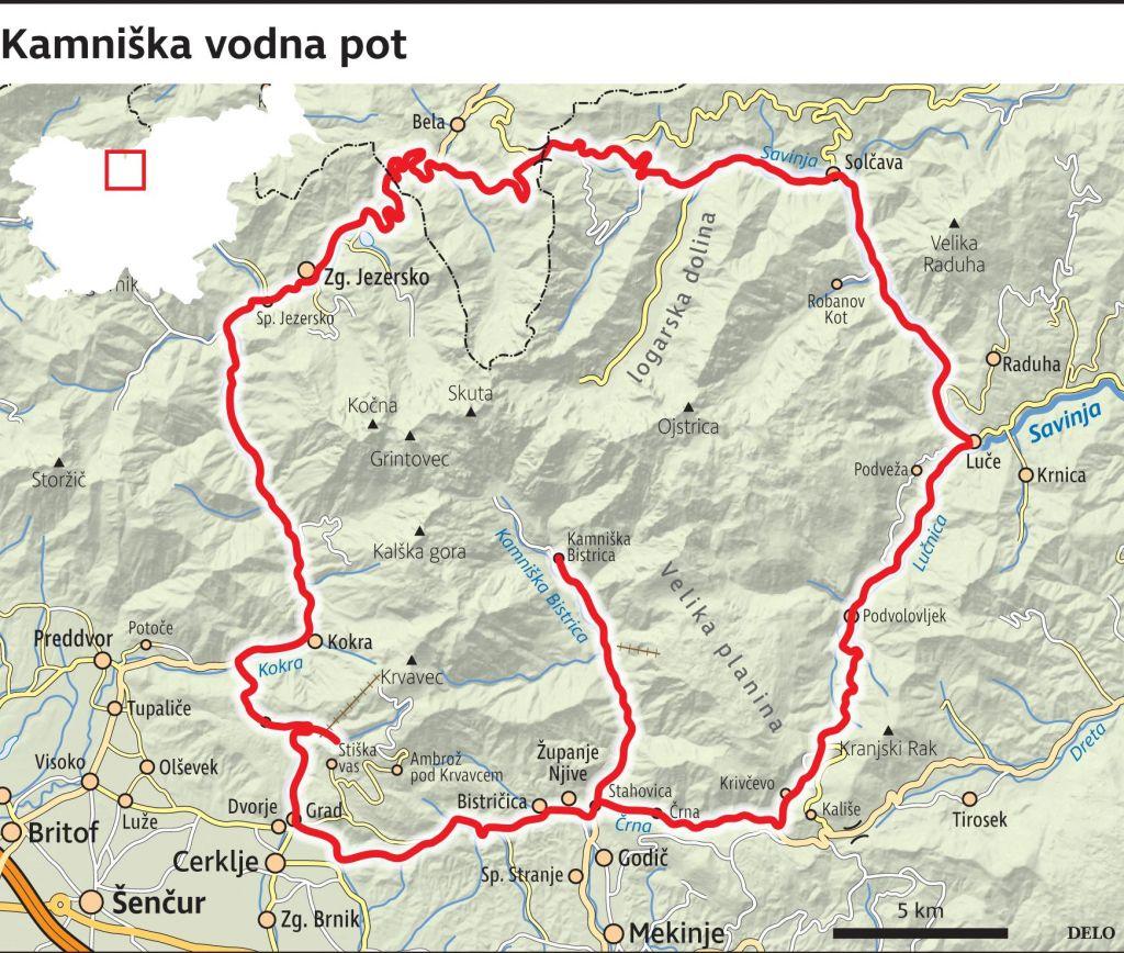 FOTO:Bogate vodne poti so Kamnik povezale s sosedami