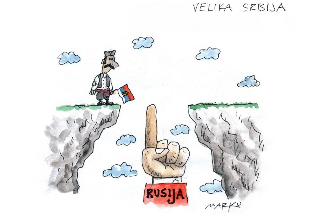 Srbija ni majhna...