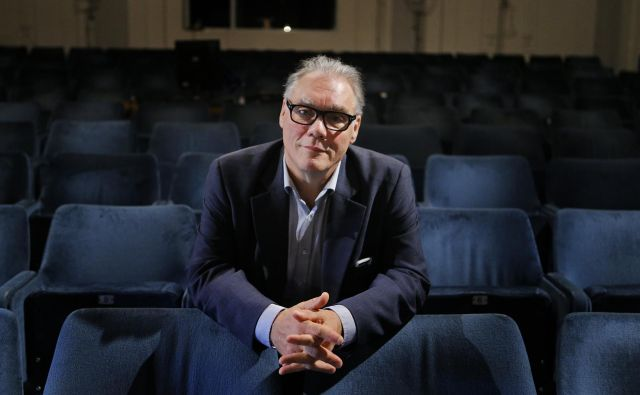 Boris Kobal, sicer direktor Šentjakobskega gledališča, naj bi delo italijanskega avtorja predstavljal kot svoje. FOTO: Jož�e Suhadolnik/Delo