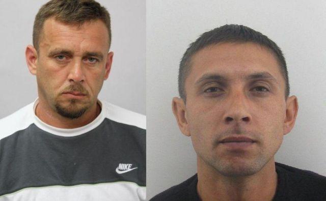 Dragan Milosavljević in Damjan Mitrović. Foto Pu Koper