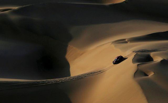 X-Raid's voznik Orlando Terranova. Foto Carlos Jasso Reuters