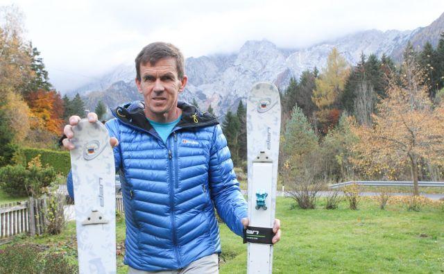 Davo Karničar: Življenje v bližini hribov mi je dalo pravo spoštovanje do gora in strah pred razmerami v njih. FOTO: Marko Feist/Slovenske novice