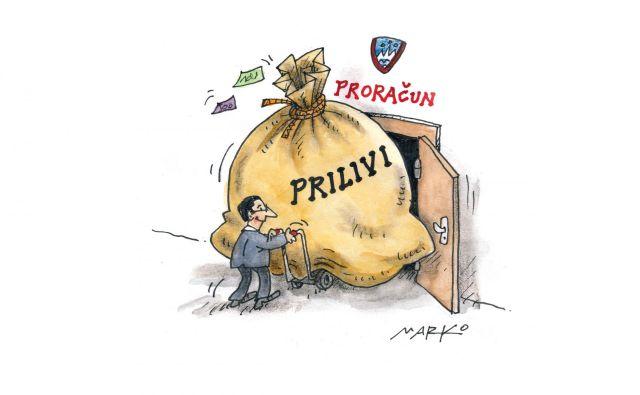 Proračun KARIKATURA: Marko Kočevar