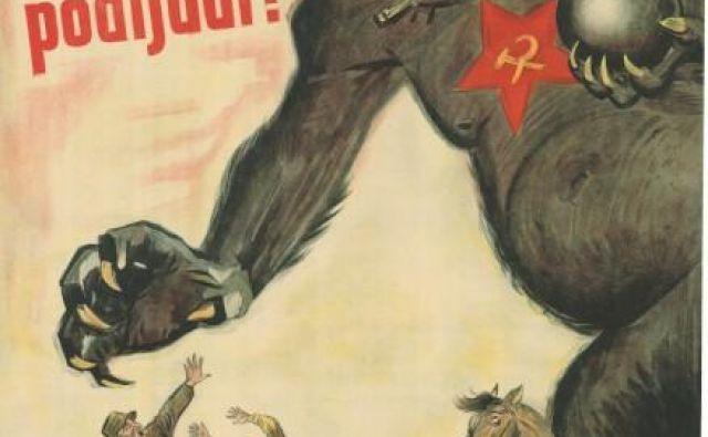 Medvojni plakat Foto www.dlib.si