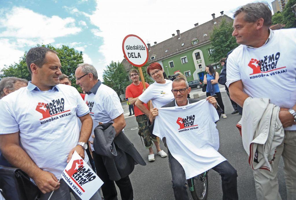 Pred dvema letoma so protestirali na Ravnah na Koroškem. Bodo danes v Ljubljani?