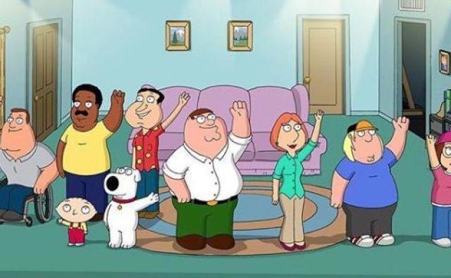 Zasedba animirane serije Family Guy. FOTO: Instagram
