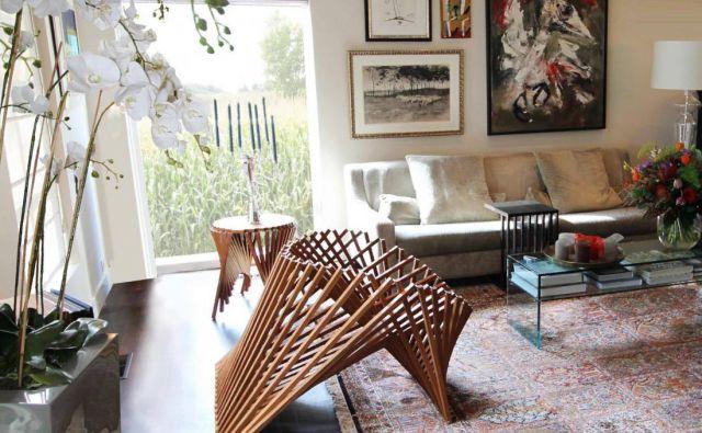 Zložljivo pohištvo je zelo dobra izbira za majhna stanovanja. FOTO: Facebook, Robert Van Embricqs