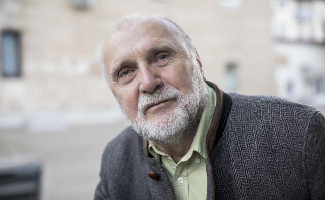 Bosanski pisatelj Dževad Karahasan. Foto Voranc Vogel