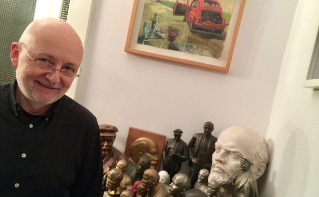 Walter Famler je intelektualec, prijatelj Slovenije, in nikakor ne zgolj salonski revolucionar. FOTO: Boris Čibej