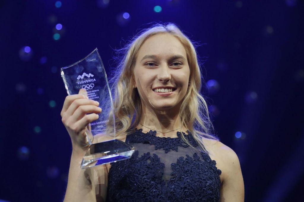 Janja Garnbret za svetovno športnico leta