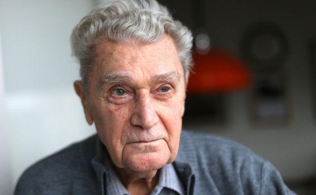 Dušan Stefančič: »Želim si samo, da bi človeštvo napredovalo v miru in razumevanju, ne pa v iluzornih pravljicah.« FOTO: Tomi Lombar