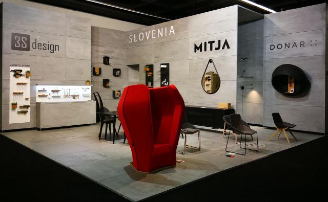 Na sejmu IMM v Kölnu se na skupnem razstavnem prostoru predstavlja več podjetij iz Slovenije. Foto: arhiv 3s Design
