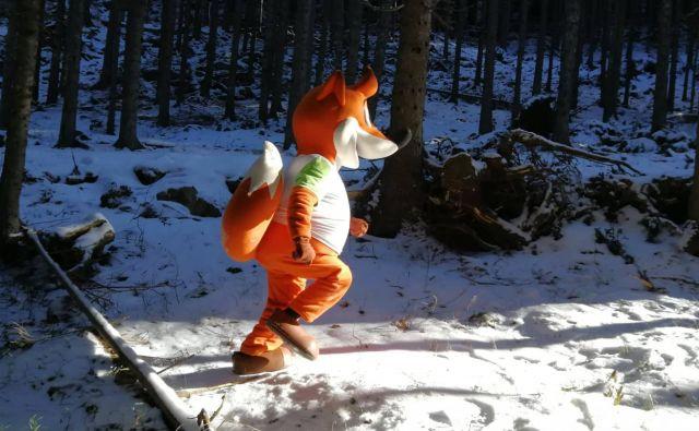 Foto: Olimpijski komite Slovenije /Glej ga junaka, to je lov na lisjaka!
