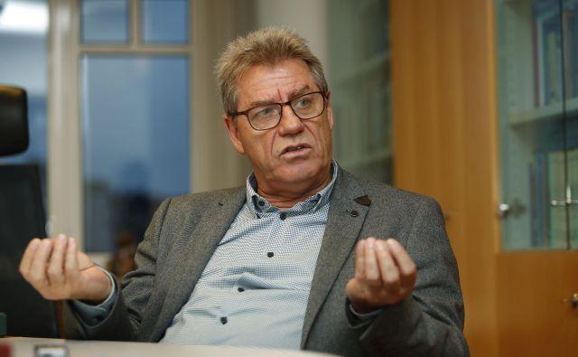 Igor Kaučič,profesor ustavnega prava ljubljanske pravne fakultete, je zagovornik poenostavitve volitev. FOTO: Leon Vidic/Delo