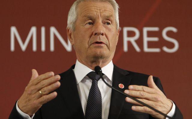 Generalni sekretar Sveta Evrope Thorbjørn Jagland je opozoril na negativne posledica morebitnega ruskega odhoda iz organizacije za obe strani. Foto Reuters