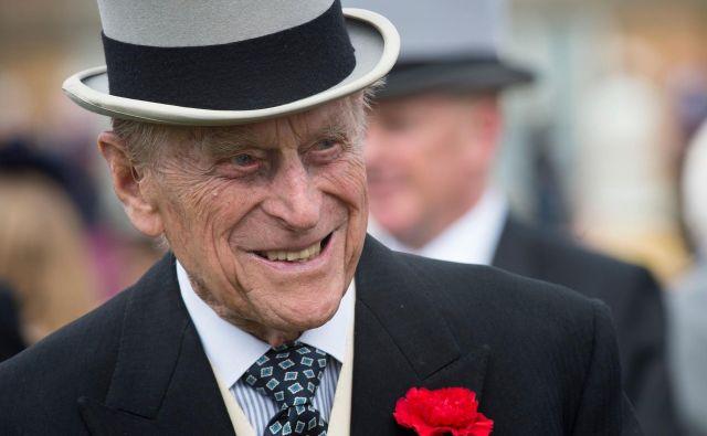 Princ Filip je imel srečo v nesreči. FOTO: AFP