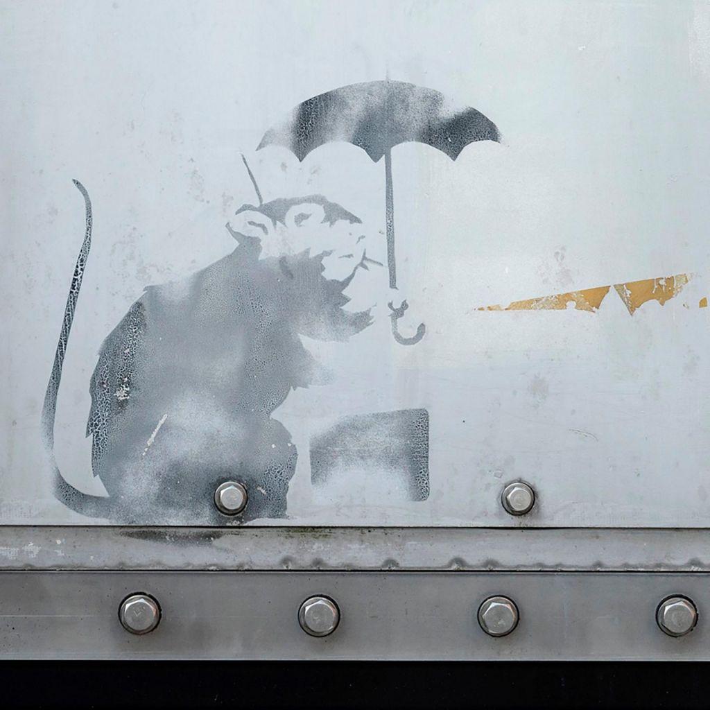 Banksy v Tokiu