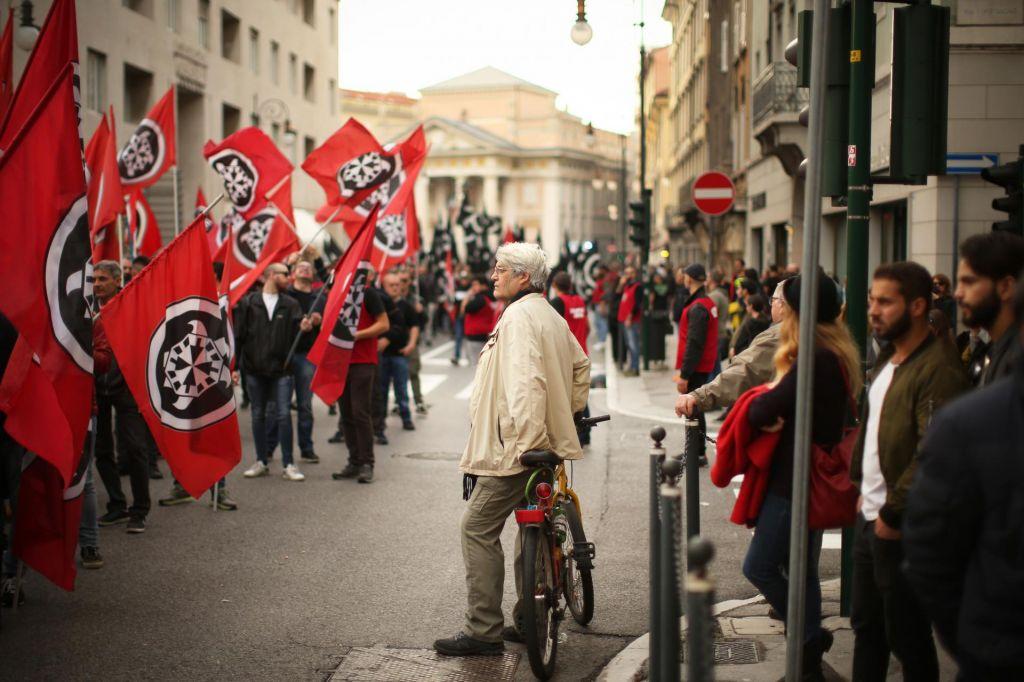Nova fašistična provokacija v Gorici